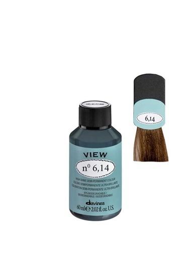 Davines Davines View Yarı Kalıcı Saç Boyası 6,14 Koyu Kumral Küllü Bakır 60 Ml Renksiz